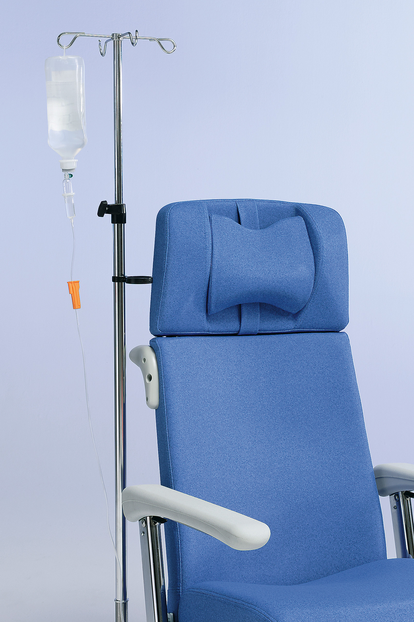 Optional infusion stand for the Ravello care chair