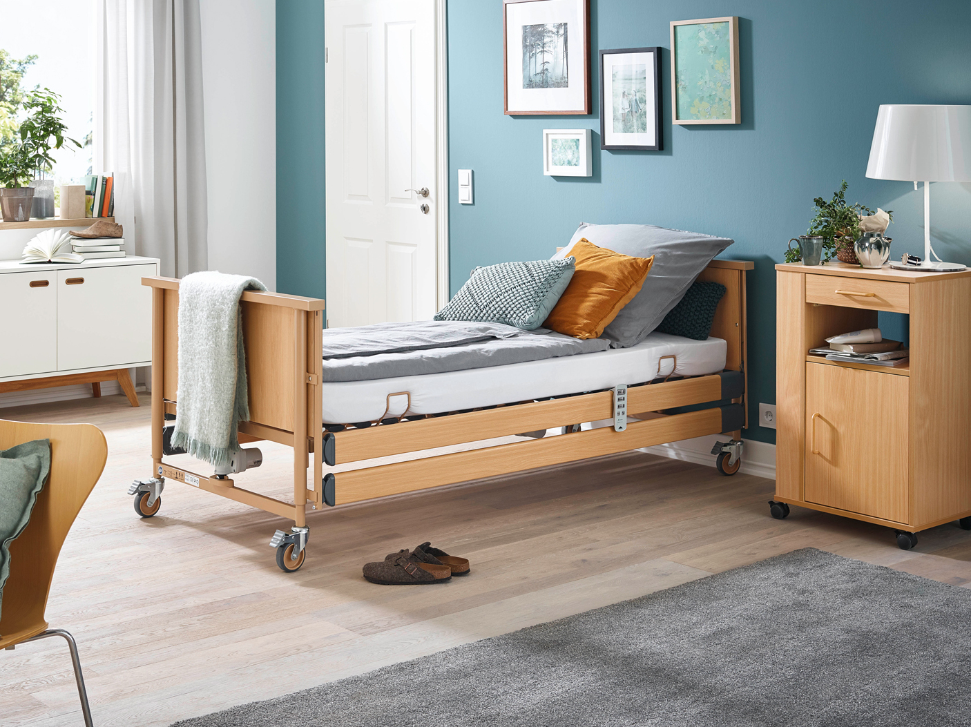 Fast, digital, comfortable – the Dali care bed range
